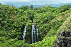 Opaekaa Falls Photograph by Maria Keady