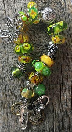 Designed by Heidi    http://www.swissflowerandgift.com/ #trollbeads #elfbeads