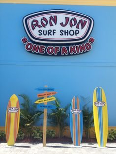 Ron Jon Surf Shop in Cocoa Beach, FL is a definite must do while staying at No Shoes No Shirt No Problem