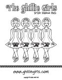 Irish dance on pinterest irish dance irish and for Irish dance coloring pages