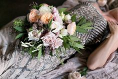 Bee, Leaves N' Love | Wedding Florist | Flowers | Grass Valley CA  Romantic, art deco, old world Italy inspired wedding. Beaded gown, mixed metals, neutral flowers. Juliette garden roses, peonies, cafe au' lait dahlias, quicksand roses, and Sahara roses. Taupe, peach, ivory, cream, blush wedding flowers. Grass Valley and Nevada City weddings. Florals | Bee, Leaves N' Love Photos | Lydia Photography Beauty | Angela Nunnink Stationary | Elizabeth Mae Creative Coordination | Taylor Kane Events…