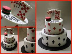 Poker Birthday Cake Poker, Frosting, Birthday Cakes, Cake Ideas, Sweet, Happy, Desserts, Food, Anniversary Cakes