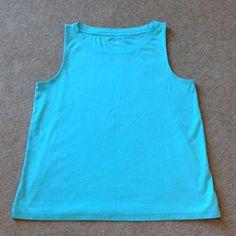 J Jill Sleeveless Tee 100% Pima cotton J. Jill Tops Tank Tops