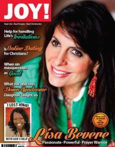 There will also be an issue of JOY! magazine in your goodie bags. Thank you JOY!