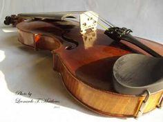 D Techler violin for sale - YouTube