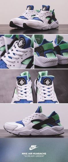 Nike Air Huarache   Scream Green  Scarpe Da Corsa Nike 6ff747c1d4a