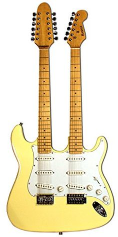 BadAax Double Neck Double Cut-Away Style Electric Guitar Reviews  $  528.46   Electric Guitars Product Features     21 frets with 6 single coil pickups   Two volume knobs and Two tone knobs   3 way pickup switch   Tune-Omatic bridge system   Bolt on necks         Electric Guitars Product Description   The BadAax 12 and 6 string double ne ..  http://www.guitarhomes.com/badaax-double-neck-double-cut-away-style-electric-guitar-reviews-5/