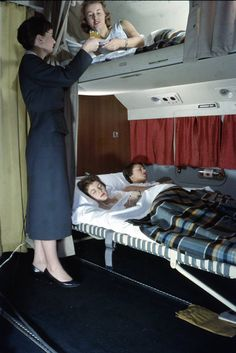 Bunk beds (on KLM), however, we'd love to see making a comeback.