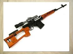 A1029 Small arms SVD Dragunov Sniper Rifle POSTER