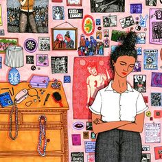 So much to admire in today's including After Emma, a brave and beautiful essay by my beloved (illustration by Sally Nixon) Love Drawings, Art Drawings, Street Art, Riot Grrrl, Guache, Arte Popular, Art Inspo, Cool Art, Illustration Art