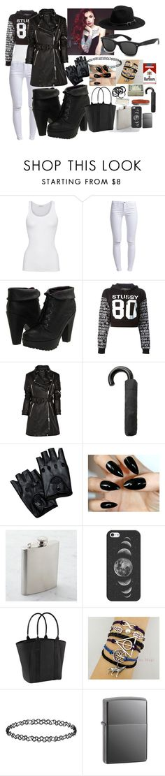 """""""#36"""" by snowhite-emmy ❤ liked on Polyvore featuring American Vintage, ONLY, Blowfish, Stussy, Burberry, MANGO, Ray-Ban, Casetify, Michael Stars and Athleta"""