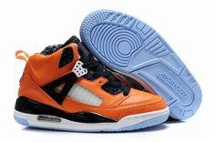 meet d84c4 cf2e1 Kids Jordan Spizikes Knicks Orange Flash Blue Ribbon. Big Kids Jordan Shoes.  Jordan SpizikeWholesale Nike ...