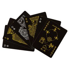 AmazonSmile: Killer Bees Playing Cards Deck by Ellusionist: Toys & Games