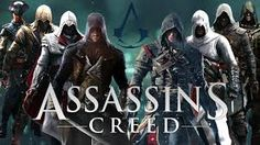 all the assassins from  all the games and I think books too.