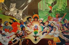 Mural at Denver International Airport