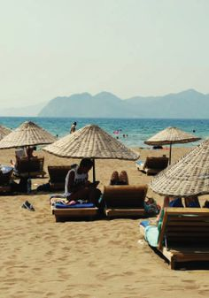Catch some rays in Dalyan,Turkey.