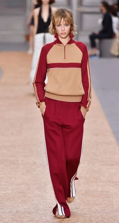 Look 3 from the Chloé Spring-Summer 2016 collection