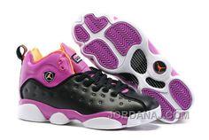 competitive price bac81 bc9f7 Jordan Team 2 Girls Black Hyper Orange-Purple Dusk-White Super Deals Jordan