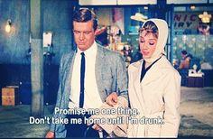 Audrey Hepburn Drunk Quote
