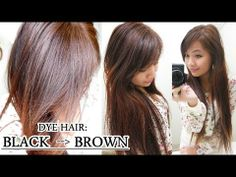 here s a tutorial on how to dye your hair at home from