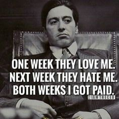 The Godfather quotes and dialogues are best which typically enhance the energy of the people. It is the film whose beautiful quotes and dialogues . Godfather Quotes, The Godfather, Scarface Quotes, Wisdom Quotes, Quotes To Live By, Life Quotes, Quotes Quotes, Movie Quotes, Funny Quotes
