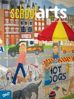 SchoolArts Magazine, November 2007, art education magazine for K-12 art educators, #arteducation, #arted
