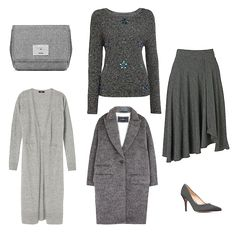 What's the one colour that works in your wardrobe from laid back leisure outfits to formal office or evening glamour? The answer is grey. From a casual sweatshirt or joggers to a luxurious cashmere...