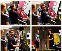 Iron Man 2 ..That's modern art