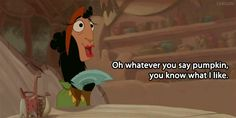 Proof That Kuzco Is The Realest Disney Prince There Ever Was - Or flatter to get what he wants.