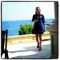 Hi @HospesHotels! Here's a #HospesSummerDreams pic of @Juliet Kinsman by @sabinezetteler in 2009 at Maricel Mallorca