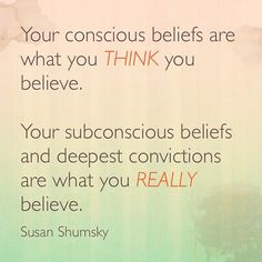 Susan Shumsky #Believe, #Really