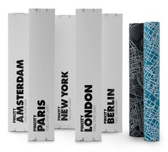 Wall Maps packaging