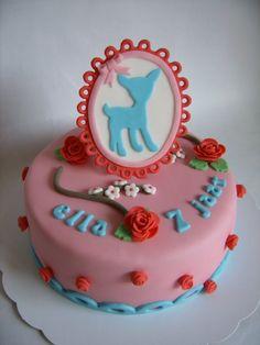 Birthday cake in Pip Studio style