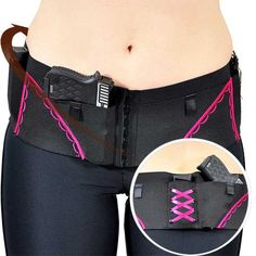Handmade in the USA! Womens Gun Holsters - Holds up to 4 firearms and 3 magazines. Available in Micro, Classic and SheBang styles to it any firearm