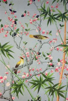 Image result for chinoiserie birds stationery