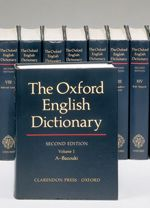 The Oxford English Dictionary, 20 volume set | Edited by John Simpson and Edmund Weiner | 9780198611868 | Oxford University Press Canada