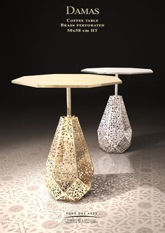 Damas Coffee table - Designer MONZER Hammoud - Pont des Arts Studio - Paris