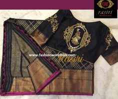 Beautiful Maggam work blouse designs by Rasiri. | Fashionworldhub