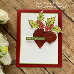 Christmas – Stamp It Up with Jaimie Create Christmas Cards, Christmas Punch, Stampin Up Christmas, Noel Christmas, Xmas Cards, Christmas 2019, Holiday Cards, Cards Diy, Christmas Stocking