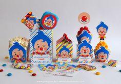 Kits imprimibles Plim Plim Circus Birthday, Circus Party, Boy Birthday Parties, 2nd Birthday, Ideas Para Fiestas, Geronimo, Baby Shark, Smurfs, First Birthdays