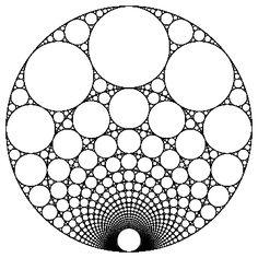 Patterns of Visual Math - Basic Chaos and Fractals Intro Geometric Drawing, Mandala Drawing, Mandala Painting, Geometric Shapes, Mandala Dots, Mandala Design, Geometric Mandala, Flower Mandala, Sacred Geometry Art
