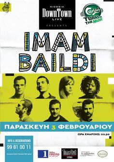 Δε κρατιόμαστε για την επιστροφή μας στην αγαπημένη μας Κύπρο! Πρώτη στάση η Λευκωσία και η παρθενική μας εμφάνιση στη σκηνή του DownTown Live τη Παρασκευή 3 Φεβρουαρίου! Σειρά έχει το Σάββατο 4 Φεβρουαρίου η Λεμεσός και το Ravens Music Hall !!! Σας περιμένουμε!!!! Music, Movie Posters, Musik, Popcorn Posters, Film Posters, Music Activities, Musica, Posters, Film Poster