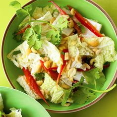 Napa cabbage, a stellar lettuce stand-in, adds crunch and much-needed variety to salad.
