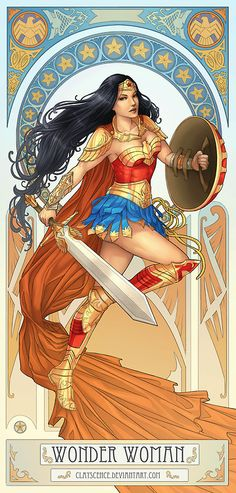 Wonder Woman by clayscence