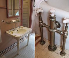 Meet NYC Interior Decorators, Designers, Collectors, & others that make New York's living spaces so unique & amazing. Antique Bathtub, Vintage Bathrooms, Multiple Shower Heads, Rich Home, Luxury Bath, Faucets, Old Houses, Period, Living Spaces