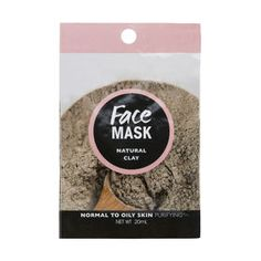 Cleanse and add a natural glow to your face using this clay mask. Face Care, Skin Care, Clay Face Mask, Face Masks, Clay Faces, Natural Glow, Oily Skin, Healthy Skin, Moisturizer