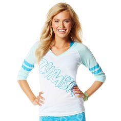 Laces Out Football Tee | Zumba Fitness Shop