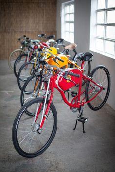 Ubicada en Barcelona Oto Cycles nace de la afición por lo clásico y por el diseño retro. Inspirados por las motos clásicas y unido a las nuevas tecnologías nacen las bicicletas eléctricas Oto cycles.                      …