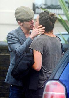 Jonathan Rhys Meyers Photos - Jonathan Rhys Meyers Kisses His Girlfriend Goodbye - Zimbio