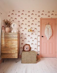Children s Rainbow Bedroom Reveal Lust Living Baby Bedroom, Nursery Room, Kids Bedroom, Nursery Decor, Childrens Bedroom Ideas, Kids Rooms, Toddler Bedroom Ideas, Modern Girls Rooms, Toddler Rooms